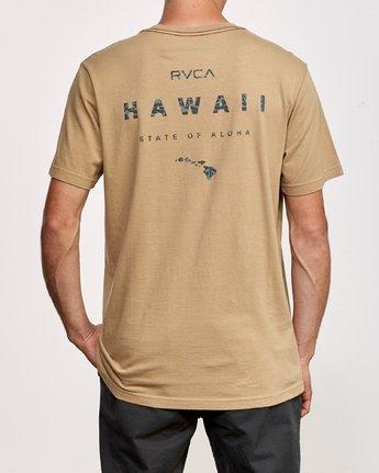 4 Da Aina T-Shirt Yellow M430VRDA RVCA