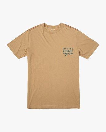 1 Explosive T-Shirt Yellow M430VREX RVCA