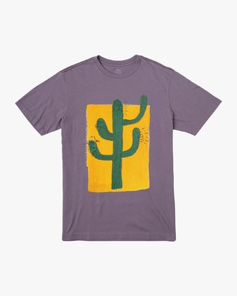 0 Harmony T-Shirt Purple M430VRHA RVCA