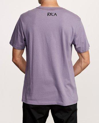 4 Harmony T-Shirt Purple M430VRHA RVCA