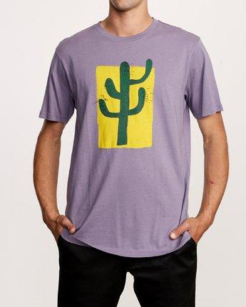 2 Harmony T-Shirt Purple M430VRHA RVCA