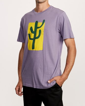 3 Harmony T-Shirt Purple M430VRHA RVCA