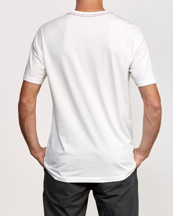 3 Island Hex T-Shirt White M430VRIS RVCA