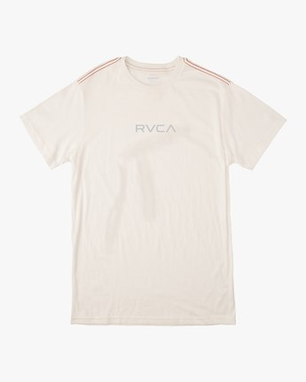 0 Small RVCA Embroidered T-Shirt White M430VRSM RVCA