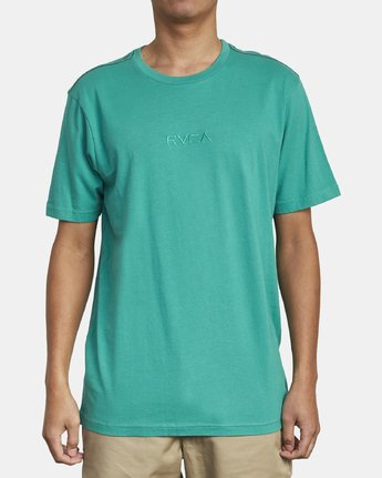 1 SMALL RVCA SHORT SLEEVE TEE Green M430VRSM RVCA