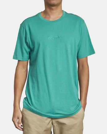 2 SMALL RVCA SHORT SLEEVE TEE Green M430VRSM RVCA
