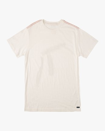0 Solo Label T-Shirt White M430VRSO RVCA