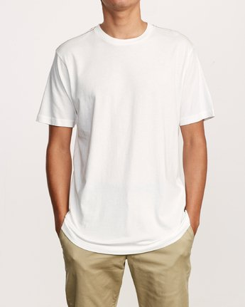 1 Solo Label T-Shirt White M430VRSO RVCA