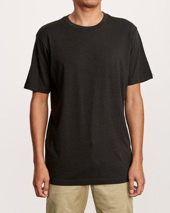 1 Solo Label T-Shirt Black M430VRSO RVCA