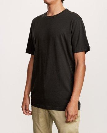 2 Solo Label T-Shirt Black M430VRSO RVCA