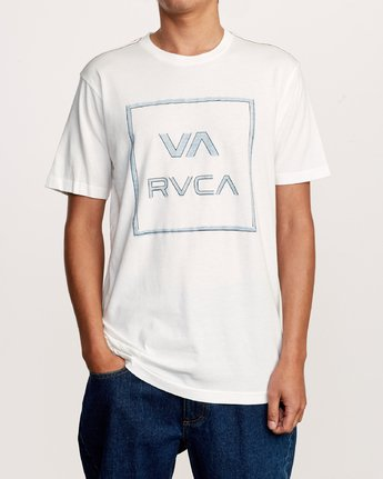 1 Unregistered T-Shirt White M430VRUN RVCA