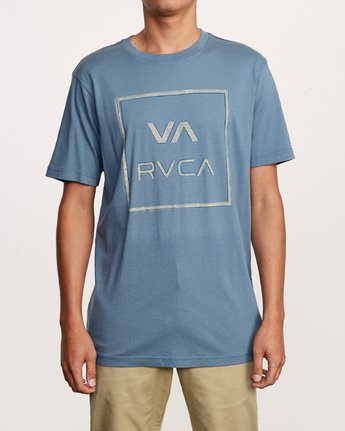 1 Unregistered T-Shirt Red M430VRUN RVCA