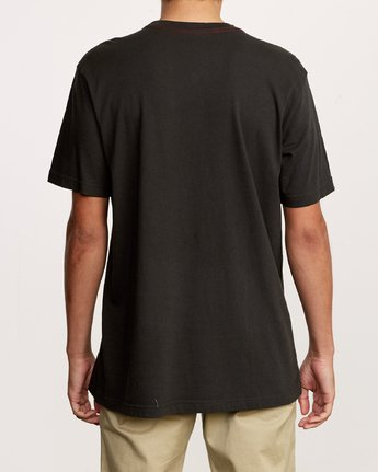3 Unregistered T-Shirt Black M430VRUN RVCA