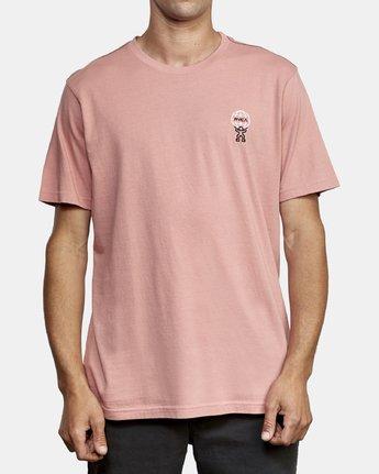 1 Atlast T-Shirt Pink M430WRAT RVCA