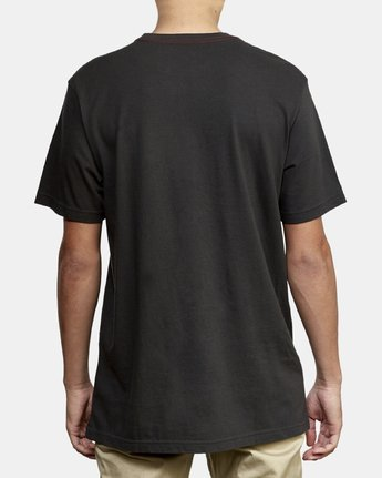 3 Atlast T-Shirt Black M430WRAT RVCA