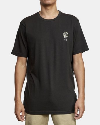 1 Atlast T-Shirt Black M430WRAT RVCA
