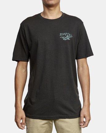 2 Castaway T-Shirt Black M430WRCA RVCA