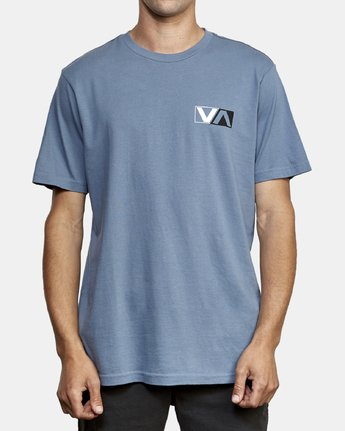 2 Lateral T-Shirt Blue M430WRLA RVCA