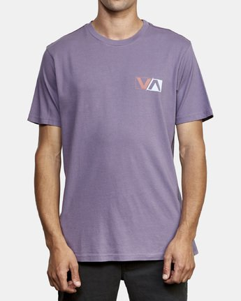 2 Lateral T-Shirt Purple M430WRLA RVCA