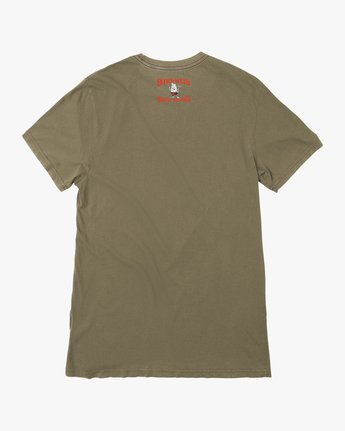 1 Birdwell Solo Birdie Embroidered T-Shirt Green M432PRSB RVCA