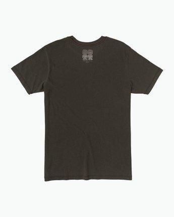 1 Campbell Recognize T-Shirt Black M432SRRE RVCA