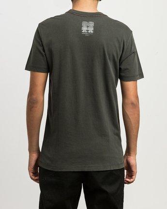 4 Campbell Recognize T-Shirt Black M432SRRE RVCA