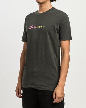 3 Campbell Recognize T-Shirt Black M432SRRE RVCA