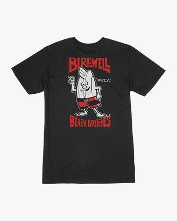 0 Birdwell Collab 01 T-Shirt Black M434PRCL RVCA