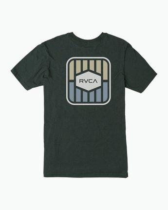 0 Milton T-Shirt Green M434SRMI RVCA
