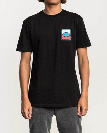 2 Milton T-Shirt Black M434SRMI RVCA