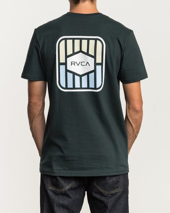 4 Milton T-Shirt Green M434SRMI RVCA
