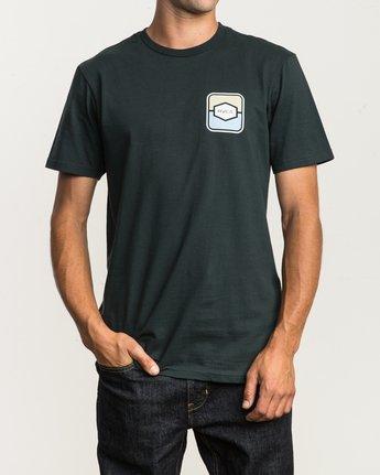 2 Milton T-Shirt Green M434SRMI RVCA