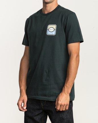 3 Milton T-Shirt Green M434SRMI RVCA