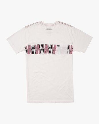 0 VA FLOW T-SHIRT White M4361RFL RVCA