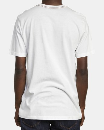 5 VA FLOW TEE White M4361RFL RVCA