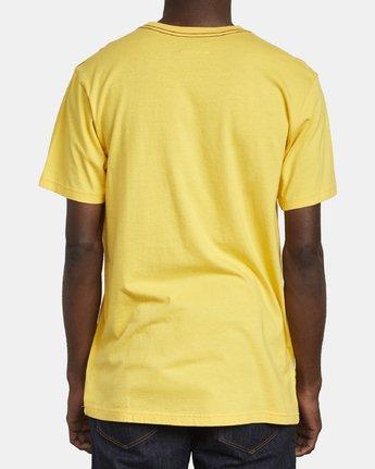 5 VA FLOW TEE Yellow M4361RFL RVCA