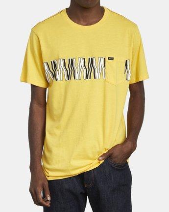 2 VA FLOW TEE Yellow M4361RFL RVCA