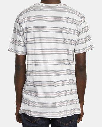5 STRAIGHT EDGE T-SHIRT White M4361RST RVCA