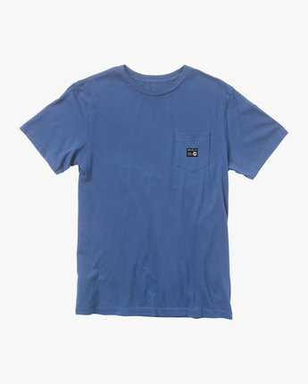 0 ANP POCKET SHORT SLEEVE TEE Multicolor M4362RAN RVCA