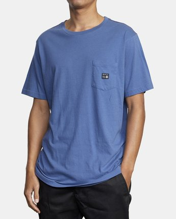 2 ANP POCKET SHORT SLEEVE TEE Multicolor M4362RAN RVCA