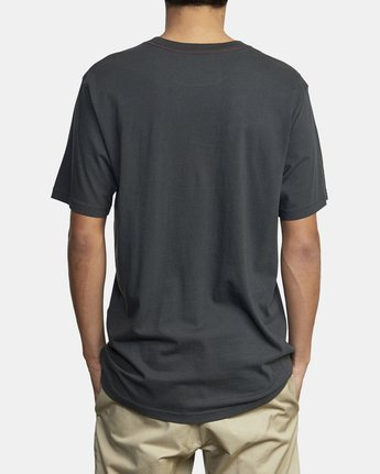 3 ANP POCKET SHORT SLEEVE TEE Black M4362RAN RVCA