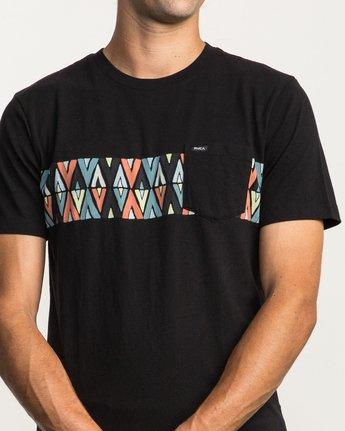 4 Mod Stripe Pocket T-Shirt  M436SRMO RVCA
