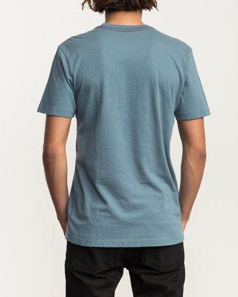 3 Mod Stripe Pocket T-Shirt Blue M436SRMO RVCA