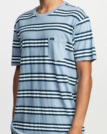 4 Ferris Striped T-Shirt  M436TRFE RVCA