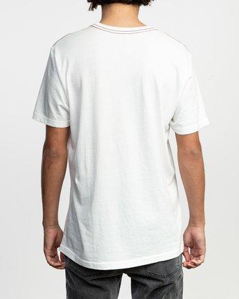3 PTC Standard Wash T-Shirt White M436TRPT RVCA