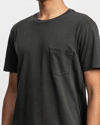 4 PTC Standard Wash T-Shirt Black M436TRPT RVCA