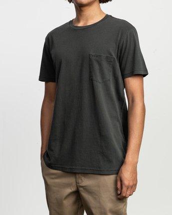 2 PTC Standard Wash T-Shirt Black M436TRPT RVCA