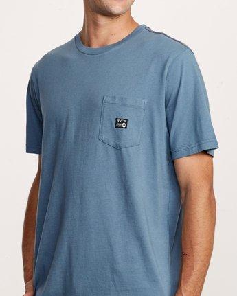 4 ANP Pocket T-Shirt Red M436VRAN RVCA