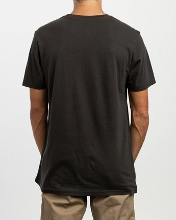 3 ANP Pocket T-Shirt Black M436VRAN RVCA