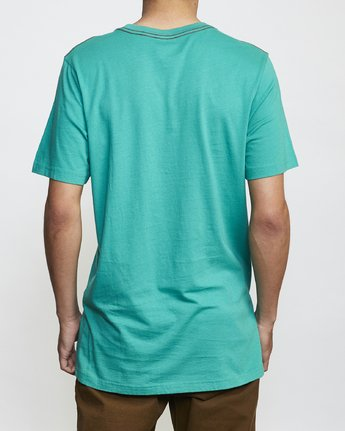 2 ANP Pocket T-Shirt Green M436VRAN RVCA